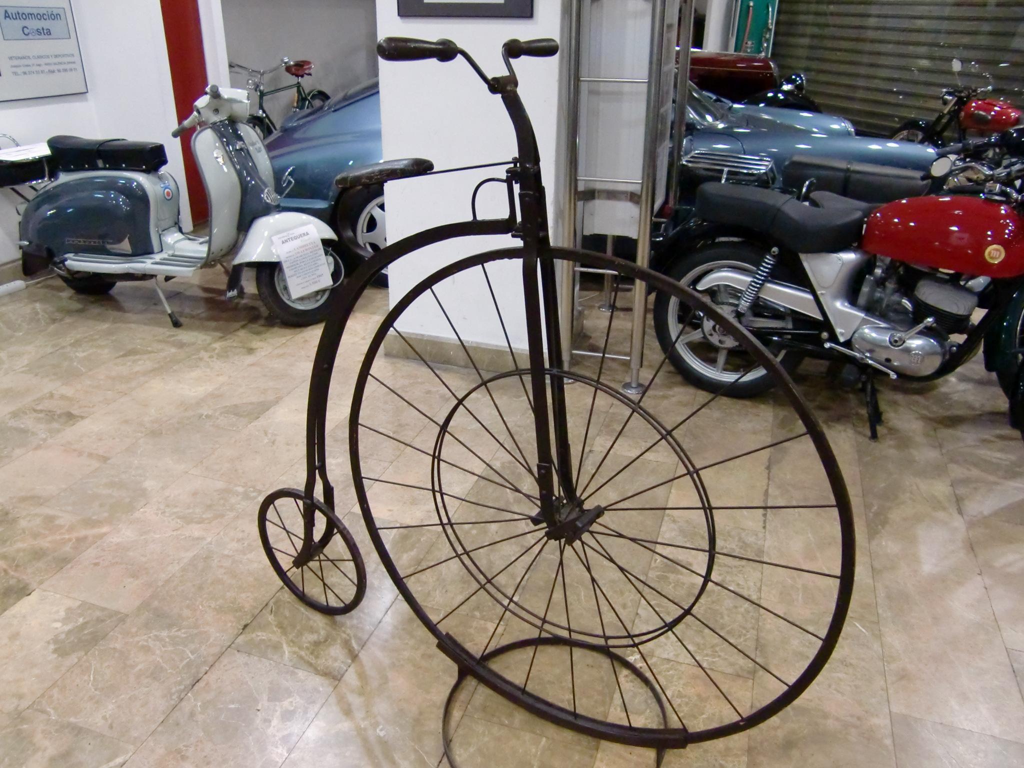 antequera classic veloc pedo bicicleta de rueda alta